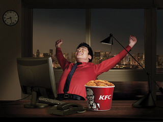 KFC fast food marketing in China