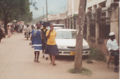 Girls walking in Morogoro