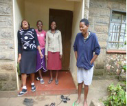 Kenyan Girls on Mid-Term Break June 2012